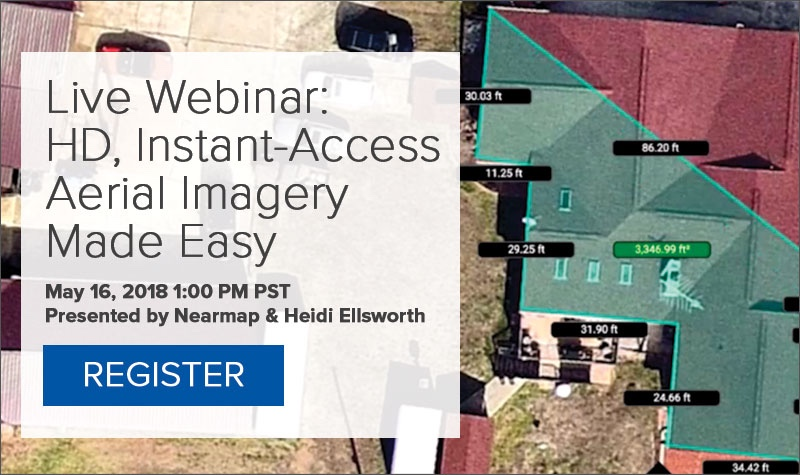 Upcoming Webinar: HD Instant-Access Aerial Imagery Made Easy