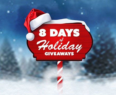 8 Days of Holiday Give-a-ways
