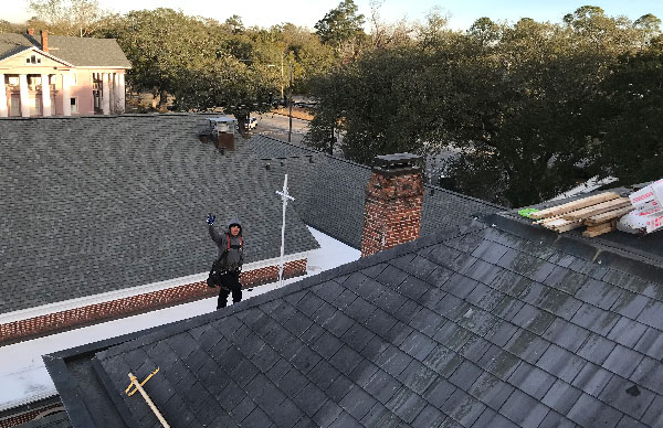 Meet Trey Norris, New South Roofing Inc., Tallahassee Florida. Hi Trey, have a great day!