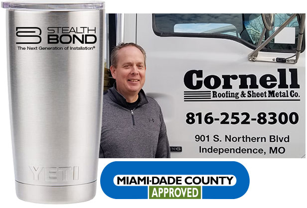 StealthBond is Miami-Dade Approved