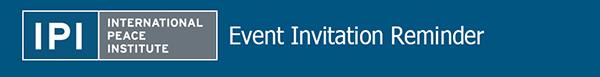 IPI Event Invitation