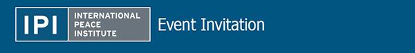 IPI Event Invitation - Save the Date