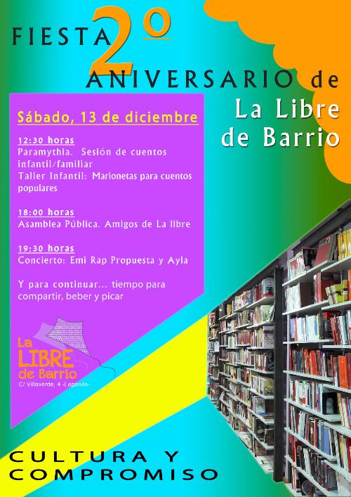 Fiesta 2º Aniversario de La Libre