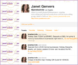Janet's Circle on Twitter