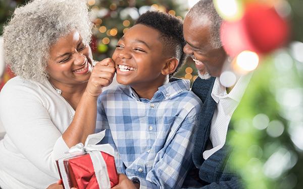 Image of Grandparents and Grandchild