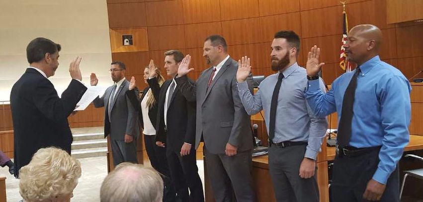 Probation Officers Swearing In Ceremony