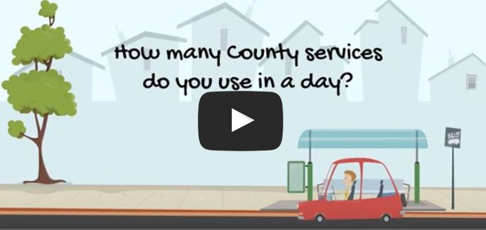 County services in a day