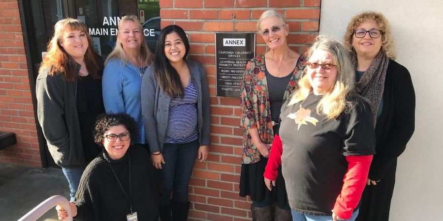 California Children's Services team, December 2018.