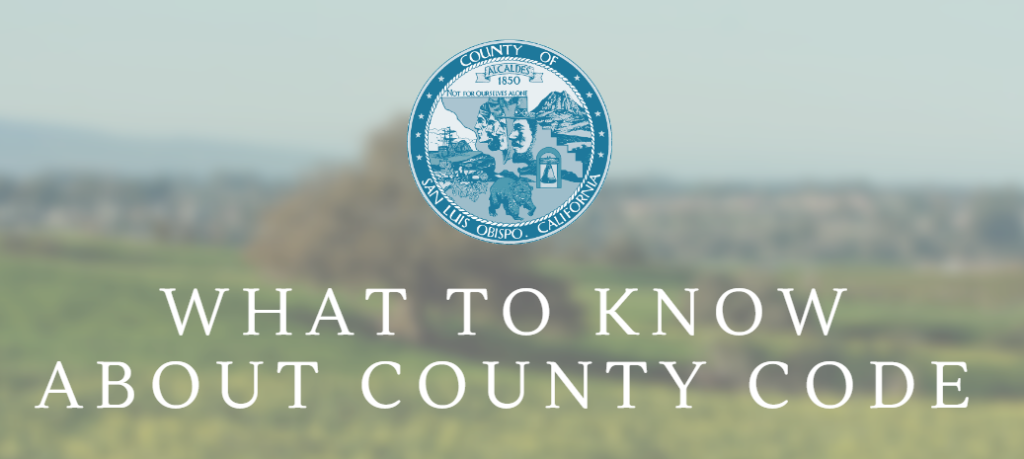 What to know about county code