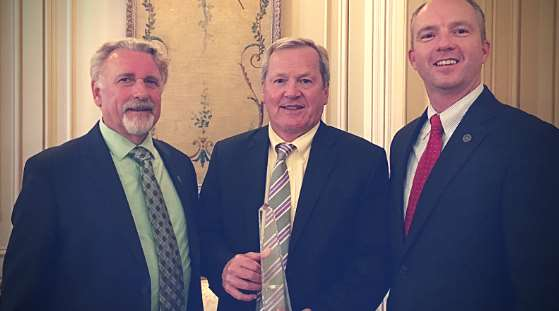 Lee Cunningham, Dave Pomeroy, Dan Dow