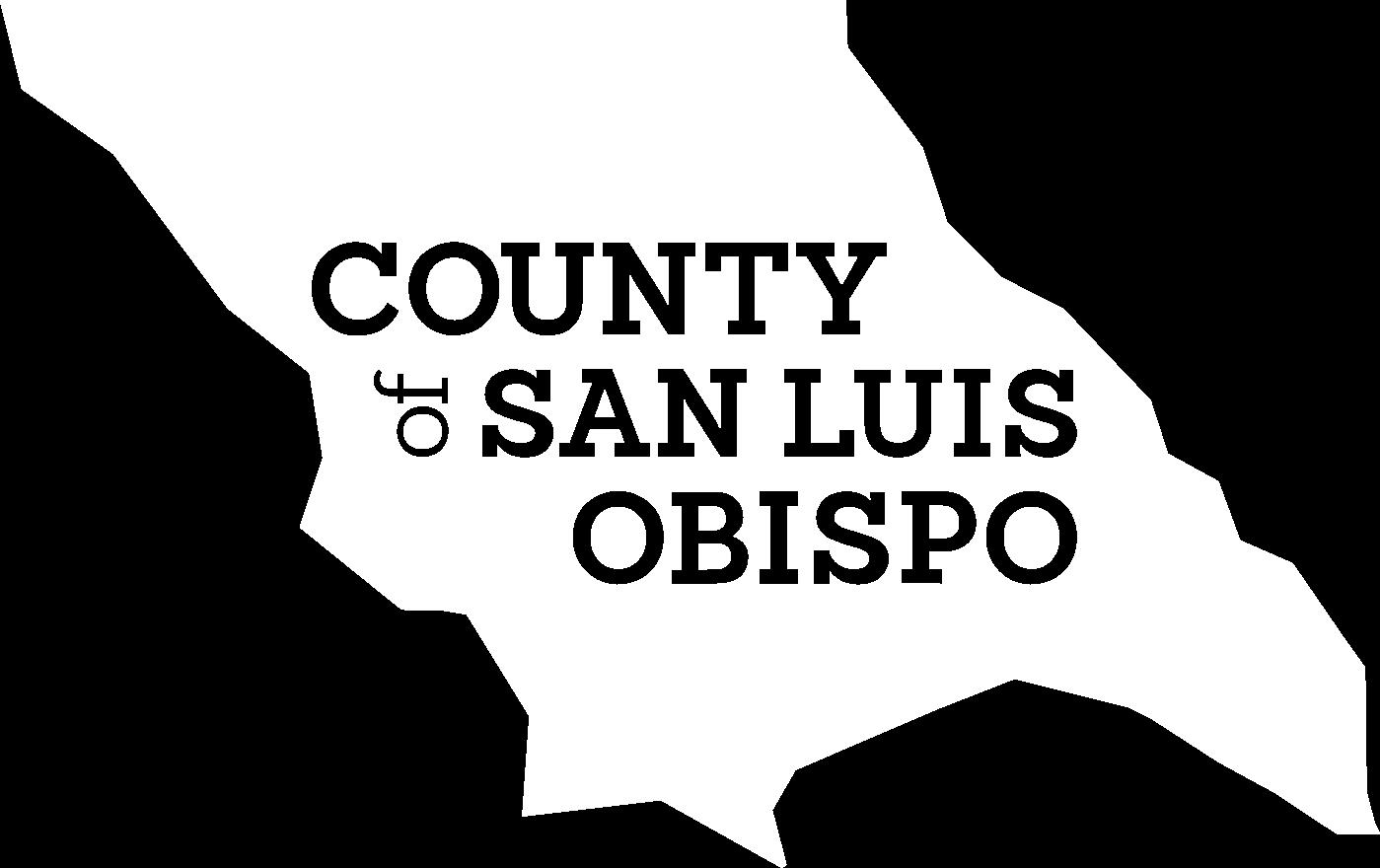 county logo white