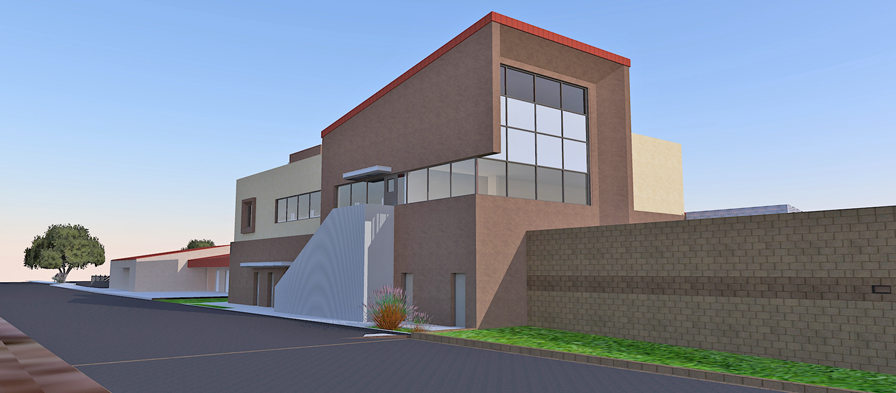 Juvenile Hall rendering
