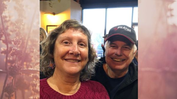 Carol Ouimette and her husband Dale