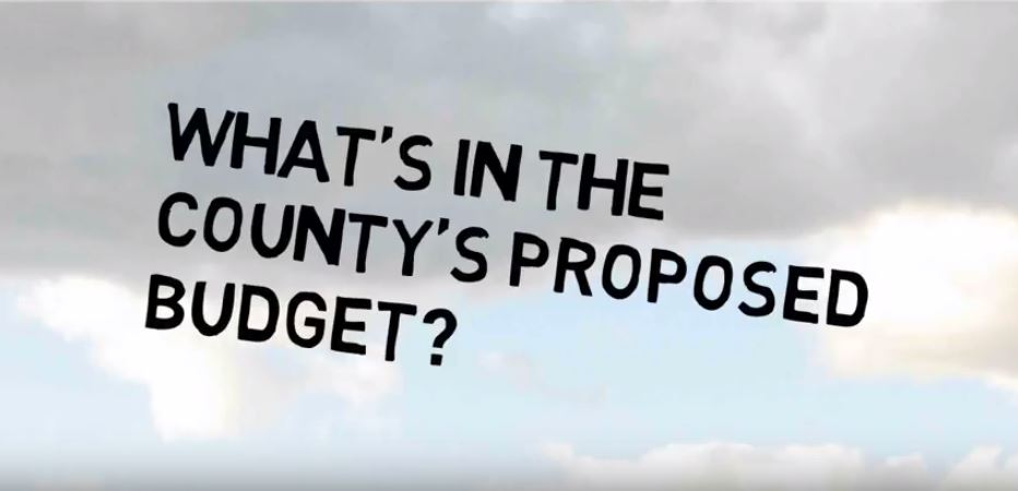 What's in the County's Proposed Budget?