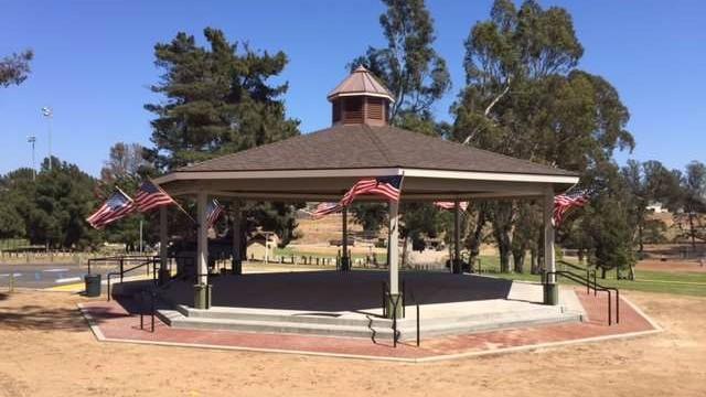 Nipomo Community Park gazebo