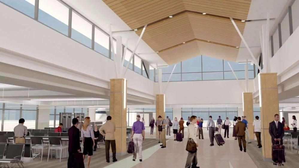 SLO Airport rendering