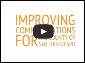 Improving Communications with #SLOCounty Public