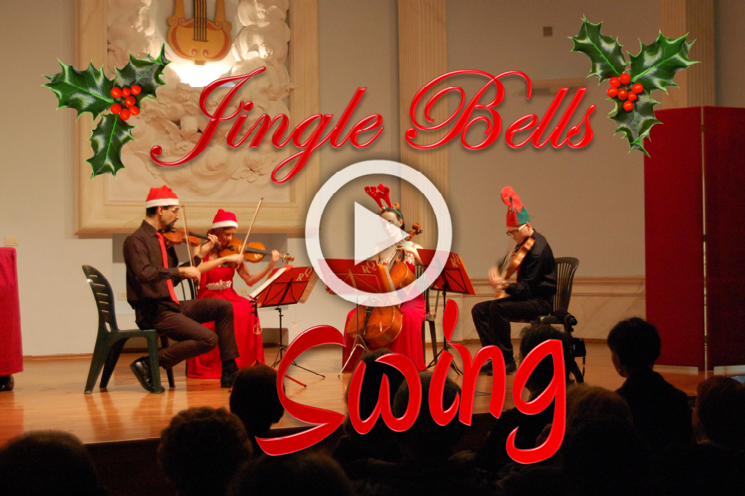 Jingle Bells Boogie Woogie - String Quartet