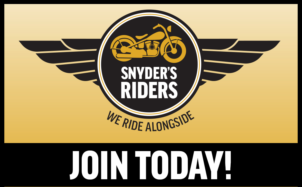Join Snyder's Riders