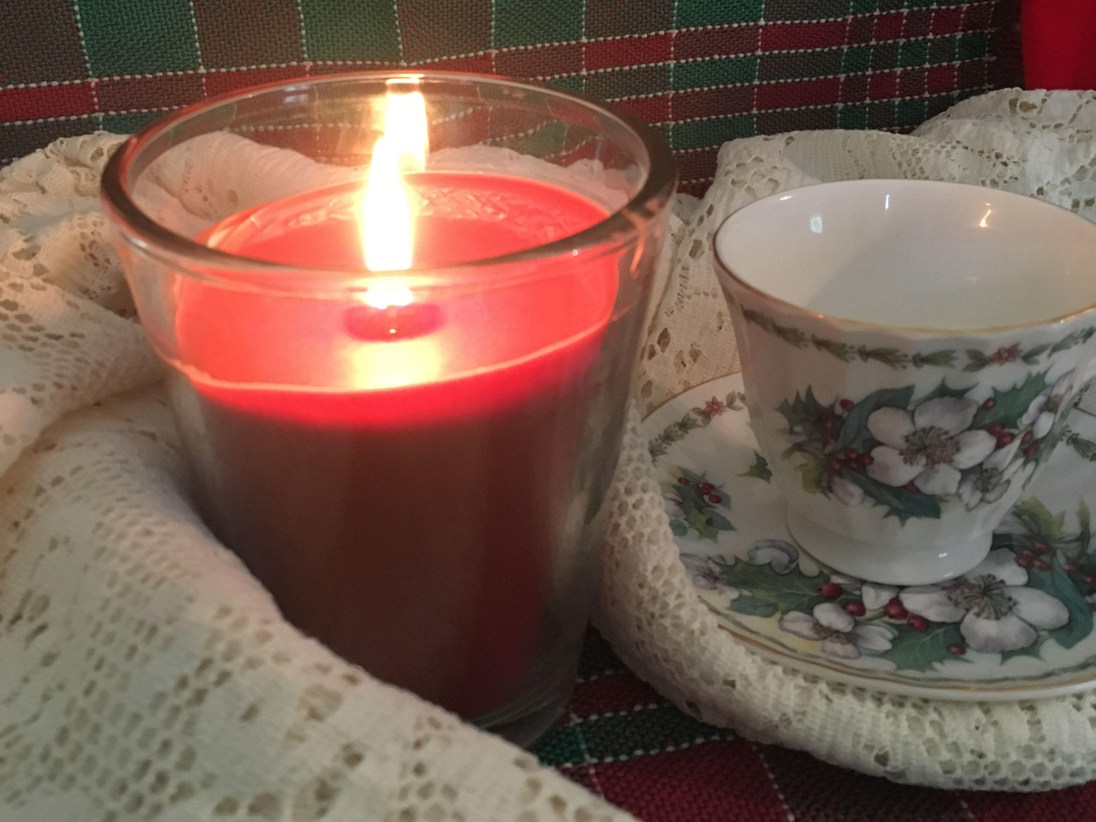 Mom's holiday teacup