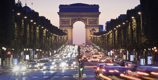 Champs Elysées à Paris