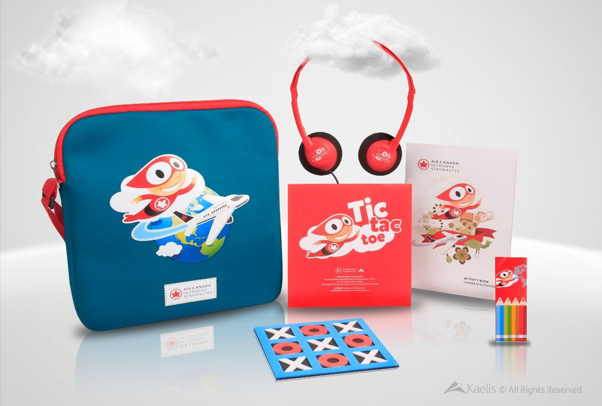 Air Canada kits Kits Kaelis
