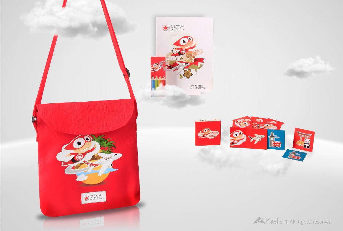 Air Canada Kids Kits Kaelis