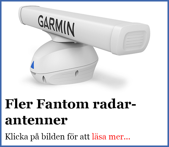 Fler Fantom radarantenner.