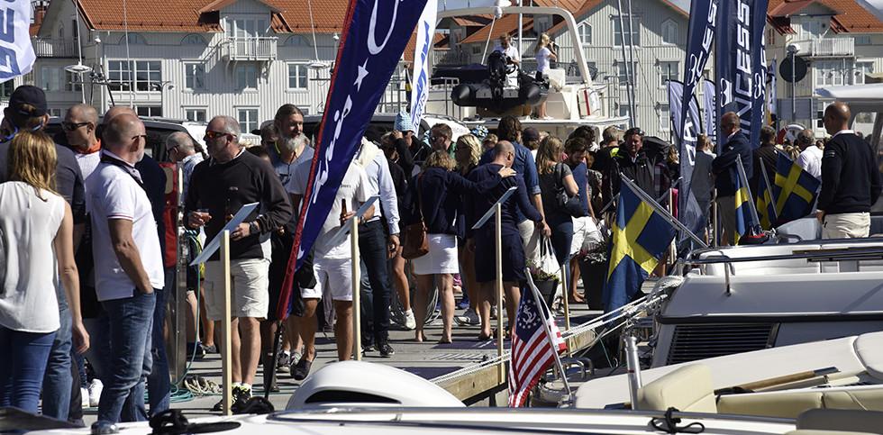Marstrand Boat Show.