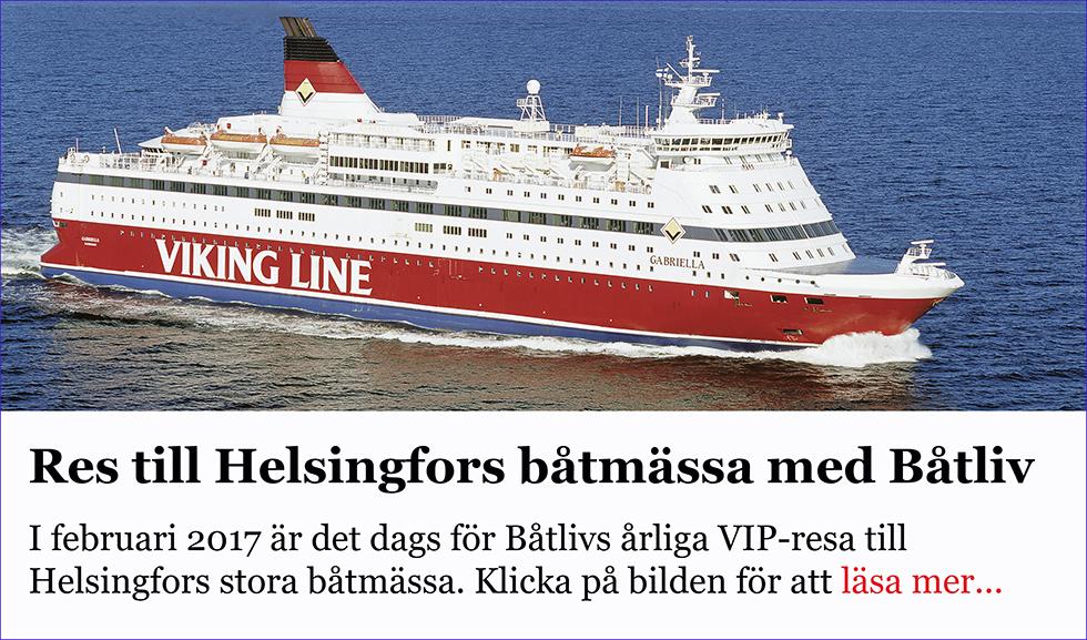 Res till Helsingfors båtmässa med Båtliv