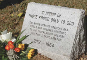 Honoring Those Known Only to God memorial