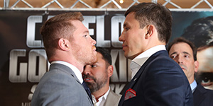 Canelo vs. Golovkin Official Weigh-In