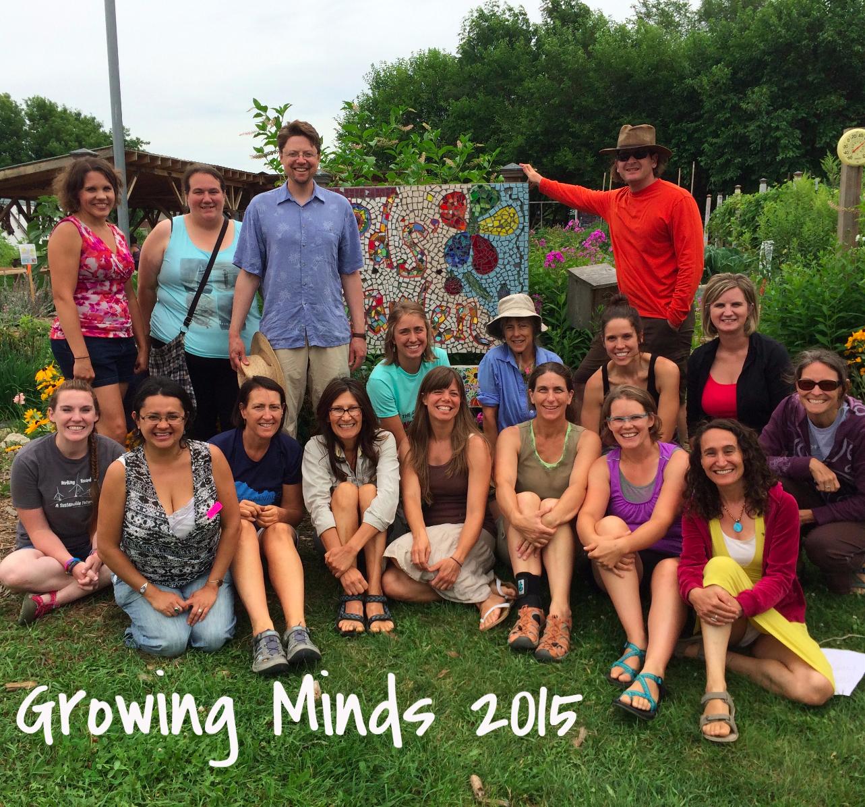 Growing Minds 2015 Participants