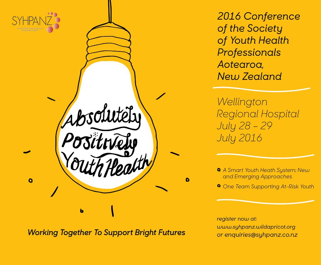 SYHPANZ Conference Wellington July 28-29