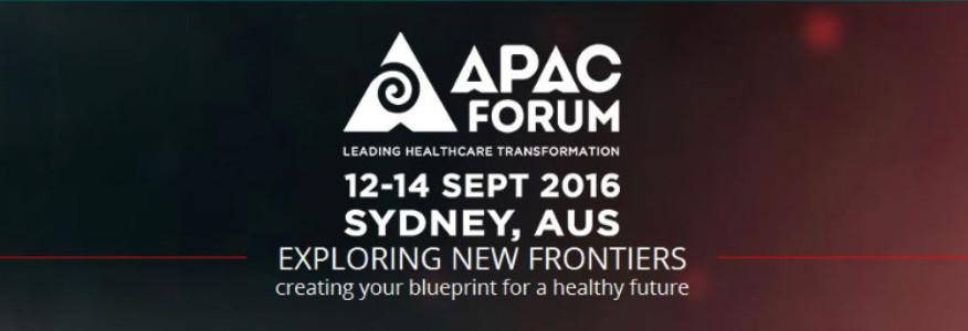 APAC Forum 12-14 Sept 2016