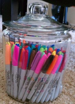 Jat of Sharpie Pens