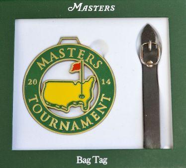 Masters Bag tag