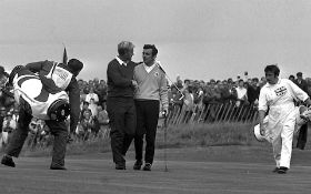 Jack Nicklaus and Tony Jack;lin