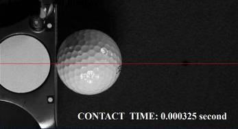 Contact Time 0.000325 Seconds