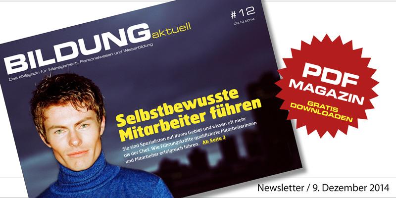eMagazin BILDUNGaktuell - Ausgabe 12/2014
