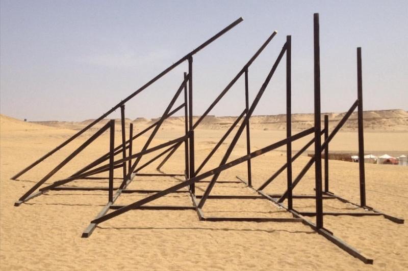 Untitled Installation by Sandrine Pelletier