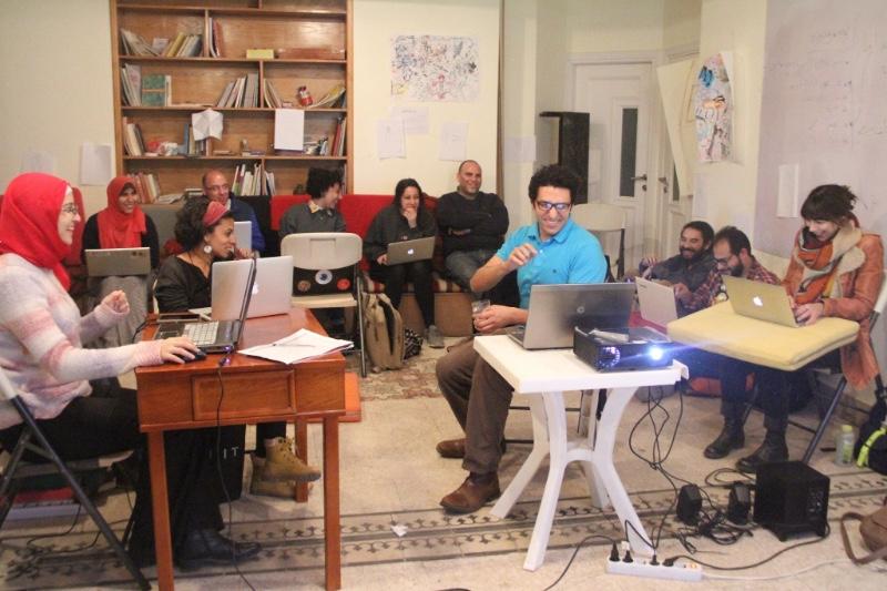 Visual Expression workshop at ADEF