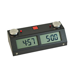 Chronos GX Chess Clock - Black - Touch Sensor