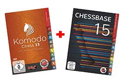 Komodo 13 and ChessBase 15 Package