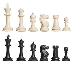 Competition Plastic Chess Pieces
