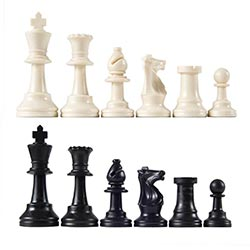 Heavy Tournament Chess Pieces