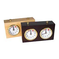 Basic Wood Analog Chess Clock