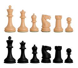 Zurich Plastic Chess Pieces