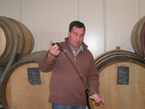 Winemaker Jean-Paul Labaille