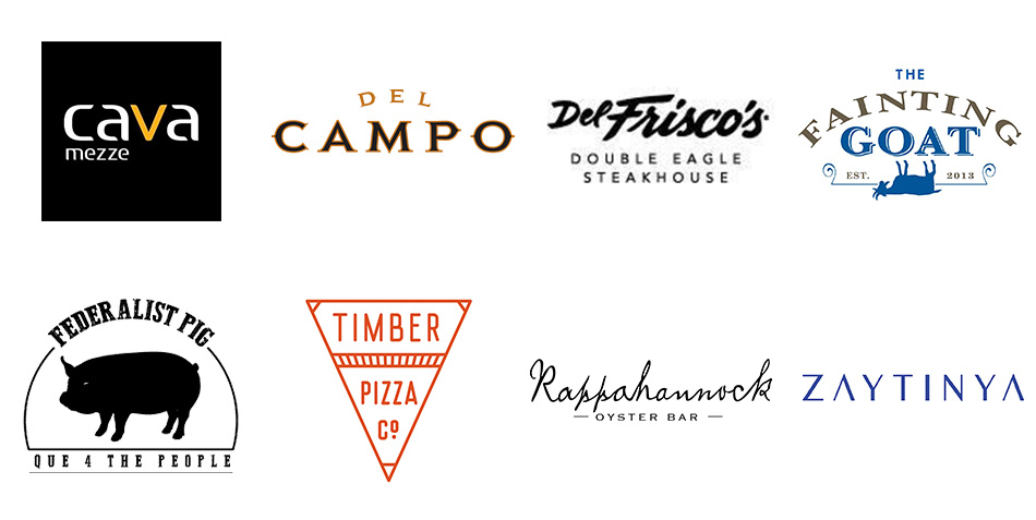 Sneak peek at a few participating restaurants